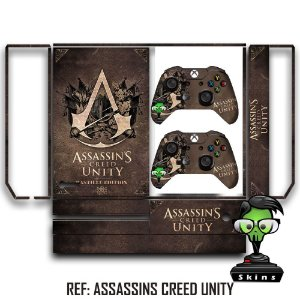 Adesivo skin xbox one fat Assassins creed Unity