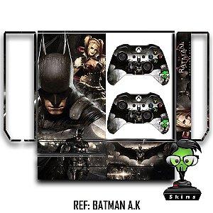 Adesivo skin xbox one fat Batman AK