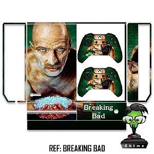 Adesivo skin xbox one fat Breaking bad