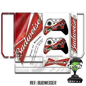 Adesivo skin xbox one fat Budweiser