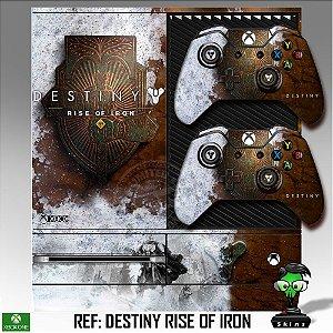 Adesivo skin xbox one fat Destiny Rise of iron