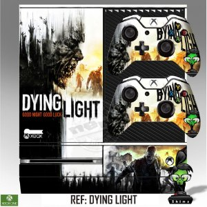 Adesivo skin xbox one fat Dying light