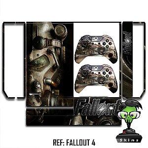 Adesivo skin xbox one fat Fallout