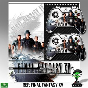 Adesivo skin xbox one fat Final fantasy 15