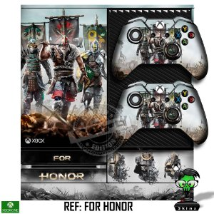 Adesivo skin xbox one fat For honor