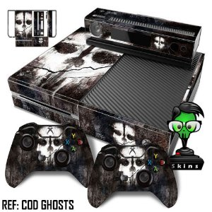 Adesivo skin xbox one fat Cod ghosts