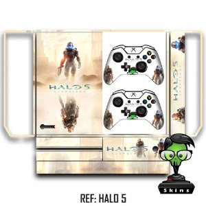 Adesivo skin xbox one fat Halo