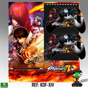 Adesivo skin xbox one fat King of fighters