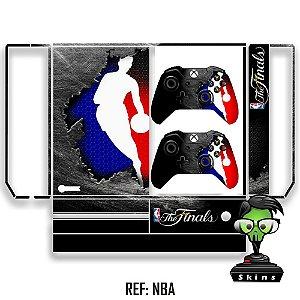 Adesivo skin xbox one fat NBA