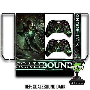 Adesivo skin xbox one fat Scalebound