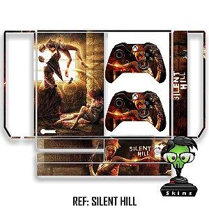 Adesivo skin xbox one fat Silent Hill