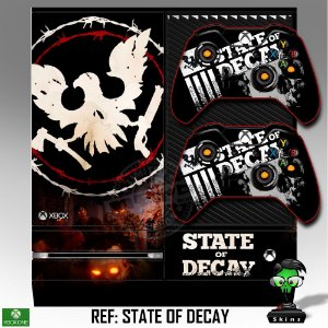 Adesivo skin xbox one fat State of Decay