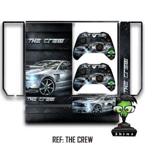 Adesivo skin xbox one fat The Crew