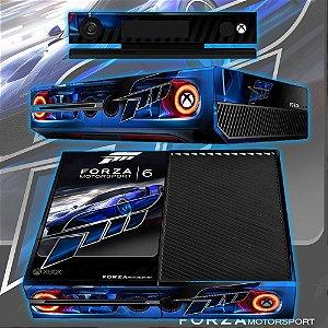 Adesivo skin xbox one fat Forza 6