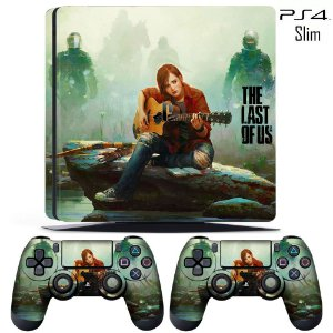 adesivo skin ps4 slim The last of us 2
