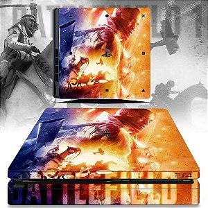 adesivo skin ps4 slim Battlefield 1