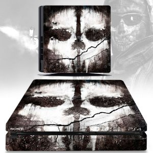 adesivo skin ps4 slim Call of duty ghosts