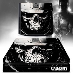adesivo skin ps4 slim Call of duty infinit skull