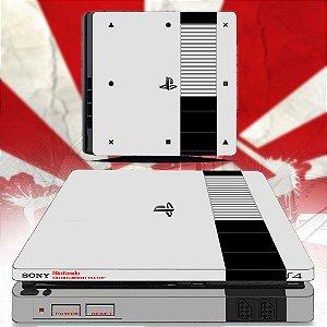 adesivo skin ps4 slim NES