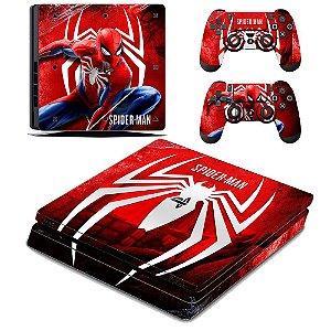 adesivo skin ps4 slim Spiderman 2019