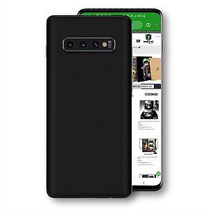 skin adesivo Samsung Galaxy S10 Preto fosco liso