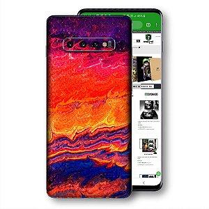 skin adesivo Samsung Galaxy S10 textura 5