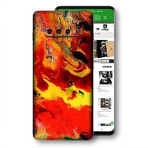 Skin adesivo Samsung Galaxy S10 textura 15
