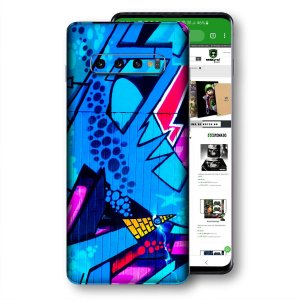 Skin adesivo Samsung Galaxy S10 textura 23