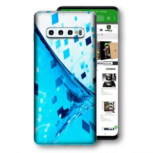 Skin adesivo Samsung Galaxy S10 textura 39