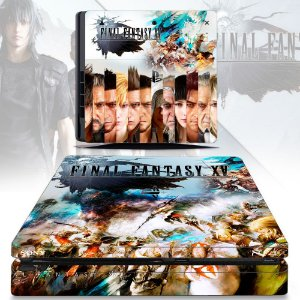 Adesivo skin ps4 slim Final Fantasy 15