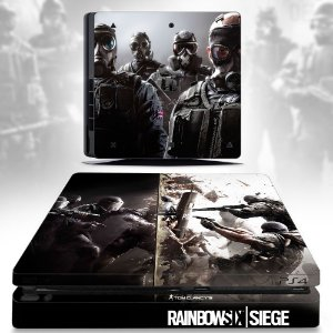 Adesivo skin ps4 slim Rainbow six siege