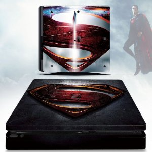 Adesivo skin ps4 slim Superman man of steel