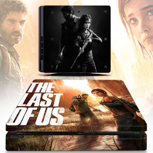 Adesivo skin ps4 slim The last of us