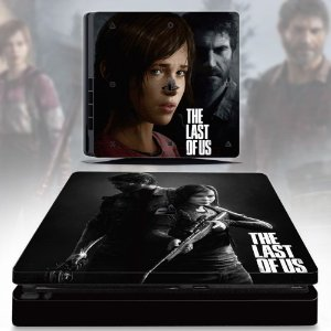 DUPLICADO - Adesivo skin ps4 slim The last of us