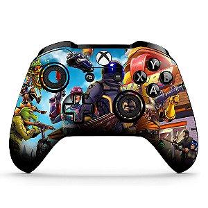 Adesivo de customização controle Xbox one skin Fortnite 2