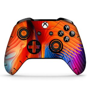 Adesivo custom controle Xbox one skin chameleon-x4