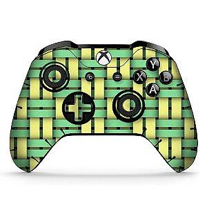 Adesivo custom controle Xbox one skin colour-braid-x4