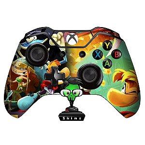 Adesivo custom controle Xbox one skin Rayman