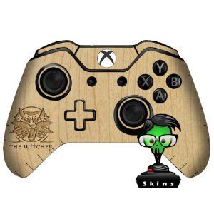 Adesivo custom controle Xbox one skin The witcher madeira 2