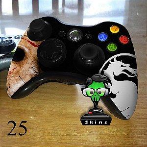 Adesivo de controle xbox 360 Jason