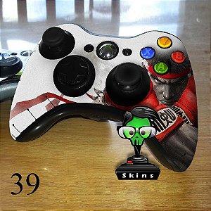 Adesivo de controle xbox 360 Street Fighter 5