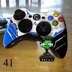 Adesivo de controle xbox 360 Titanfall azul