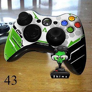 Adesivo de controle xbox 360 Titanfall verde