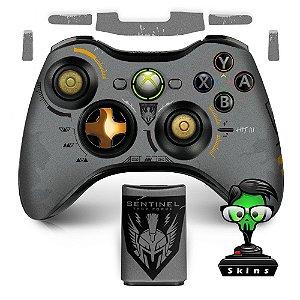 Adesivo de controle xbox 360 Call of duty limited edition
