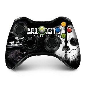 Adesivo de controle xbox 360 Cod Ghosts
