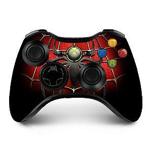 Adesivo de controle xbox 360 Spiderman