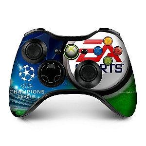 Adesivo de controle xbox 360 Champions League