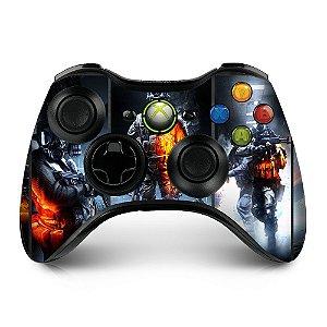 Adesivo de controle xbox 360 Battlefield
