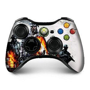Adesivo de controle xbox 360 Battlefield war2