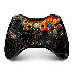 Adesivo de controle xbox 360 Gears of war Raptors team raam